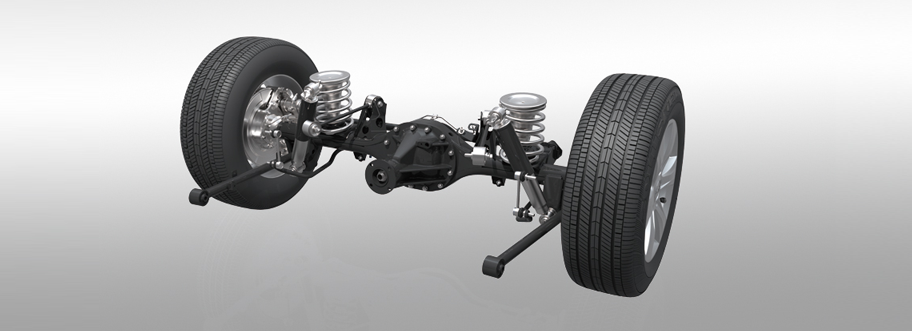 Multi-link Non-independent Rear Suspension