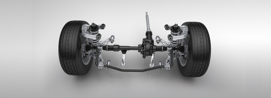 Front Double-wishbone Suspension